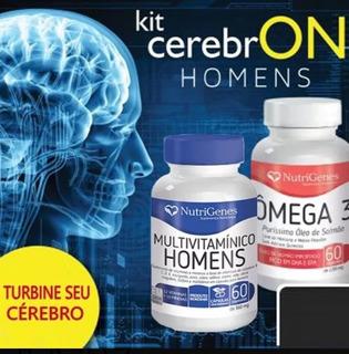 Omega 3 Purissimo De Salmão Multivitaminico Homem Nutrigenes