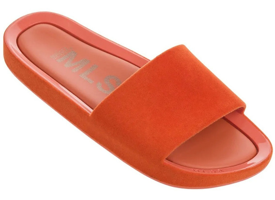 Melissa Chinelo Beach Slide Flocado Original