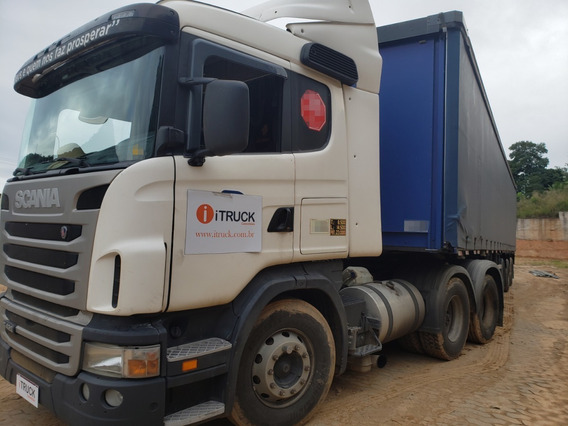 Scania G420 A 6x2 Ano 2010 = Mb Volvo 440 380