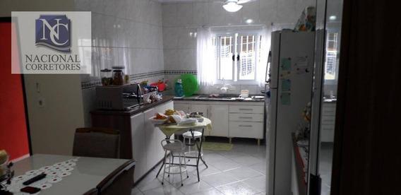 Sobrado Com 3 Dormitórios À Venda, 138 M² Por R$ 580.000,00 - Parque Novo Oratório - Santo André/sp - So0449