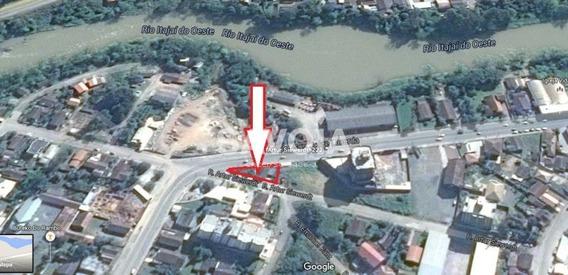 Casa/ Terreno Comercial Frente Para A Av. Jorge Lacerda No Bairro Budag Em Rio Do Sul - Sc - 1208