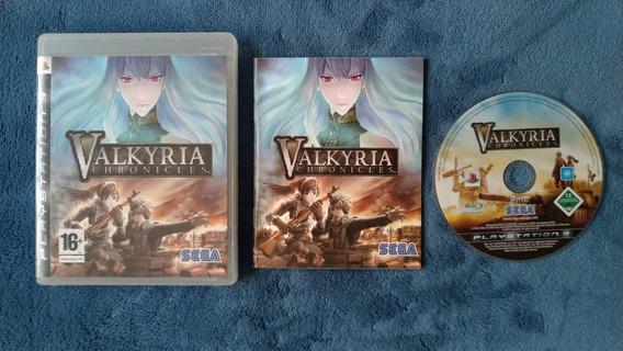 [ Playstation 3 ] Valkyria Chronicles Original E Completo