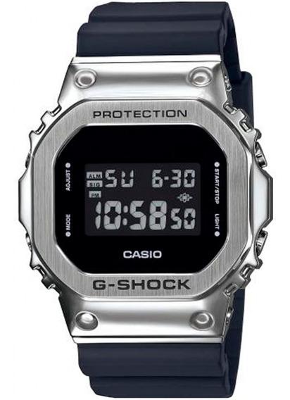 Relógio Casio G-shock Masculino Gm-5600-1dr + Nfe Garantia