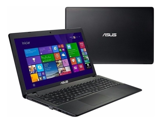 Notebook Asus X552e Quad Core 4gb 500gb Windows 15,6