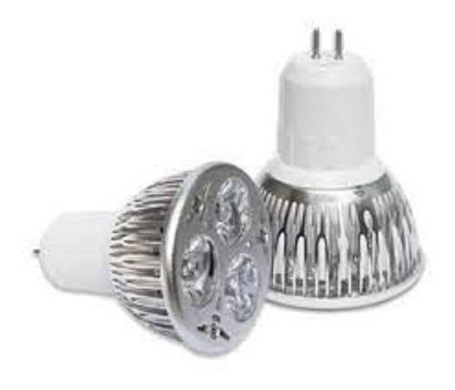 Bombillo Led 3w, 110v, Base Mr16, E27, Gu10 Tipo Dicroico