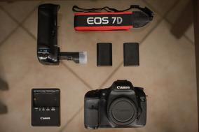 Canon 7d Perfeita, 26k Cliques + Grip + 2 Baterias