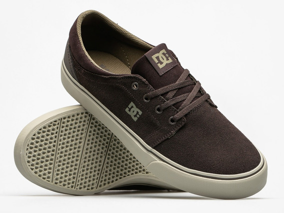 Dc Shoes - Trase Sd 28mx / Brown Cream / Tenis Skate