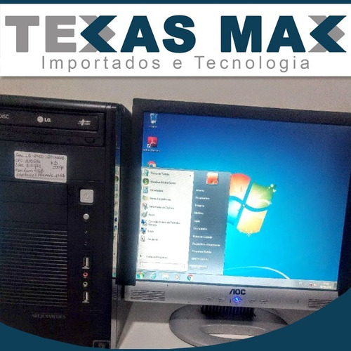 Computador Core I5 (2ª Gen.) , 4gb Ram E Hd De 250gb