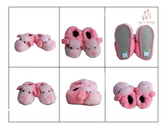 Pantufa Cachorro Pink Promoção Infantil Adulto Pijama Barato