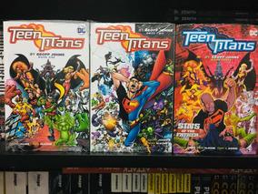 Teen Titans By Geoff Johns Books 1, 2 E 3 (lacrados) Inglês