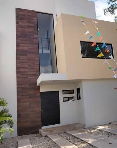 Aqua, Estrene Casa En Renta De 3 Recámaras Y Alberca. Cancún, Quintana Roo