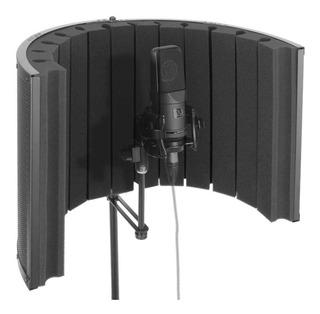 Pyle Mini Portátil Vocal Cabina De Grabación - Micrófono Est