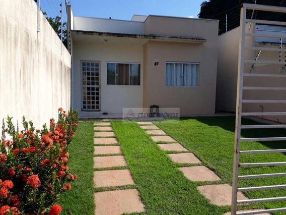 Casa Com 2 Dormitórios À Venda, 93 M² Por R$ 160.000,00 - Jardim Presidente I - Cuiabá/mt - Ca1156