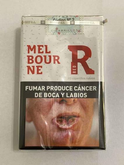 Cigarrillos Melbourne Rojo Por Bulto Pack Por 25 Atados