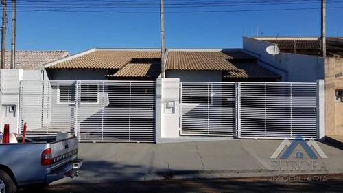 Imagem 1 de 23 de Casa Com 2 Dormitórios À Venda, 90 M² Por R$ 250.000,00 - Jardim Morumbi - Cambé/pr - Ca1185