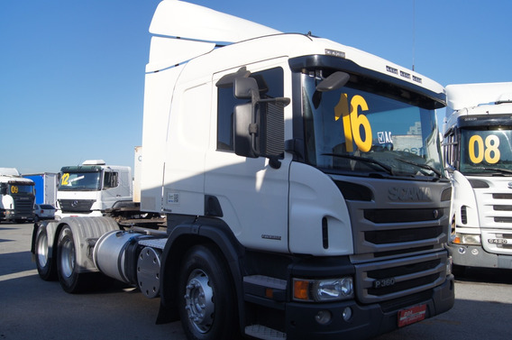 Scania P 360 6x2 - Ano 2016 - Completíssima
