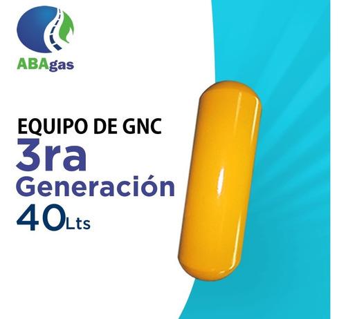 Imagen 1 de 5 de Equipo De Gnc Gas 3ra Generacion Instalacion Completo 40lts