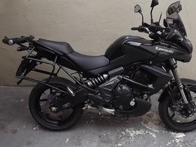 Kawasaki Versys 650 Tr Abs 2012 Preta