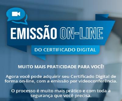 Certificado Digital E-cpf A1 , Validade 1ano Por Videoconfe.