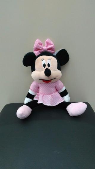 Boneco De Pelucia Minnie Mouse Disney Presente 30cm Presente