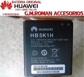 2 Baterias Orig Huawei Hb5k1h Y200,cm980,u8850,u8650,u8865