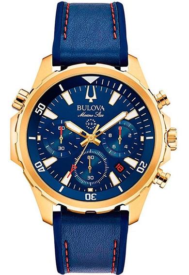 Relógio Bulova Masculino Esportivo Cronógrafo 97b168 Nfe