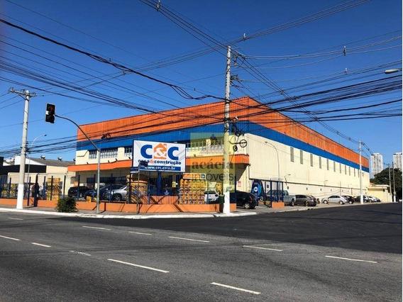 Galpão Para Alugar, 4536 M² Por R$ 169.000/mês - Vila Leopoldina - São Paulo/sp - Ga0262