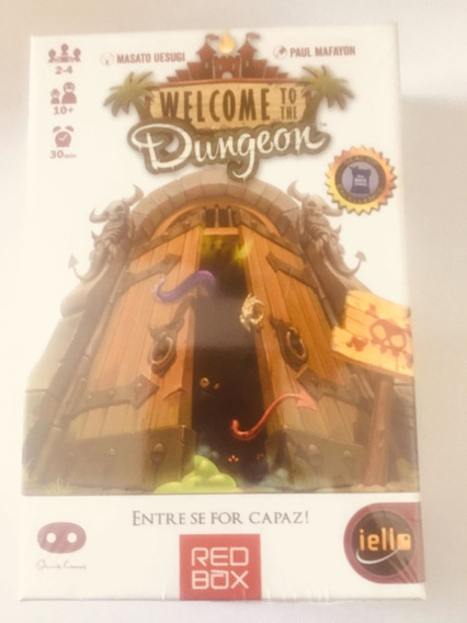 Card Game Welcome To The Dungeon Entre Se For Capaz! Em Pt