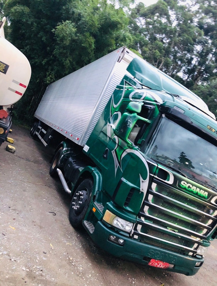 Scania R124 + Carreta Rodofort 30 Palet