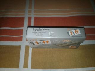 Cajas De 5000 Pzas De Grapas Corrugadas/lisas Medidas 26/6