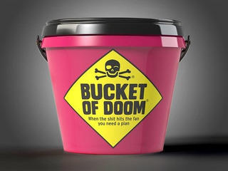 Big Potato Bucket Of Doom: Death Dodging Party Game