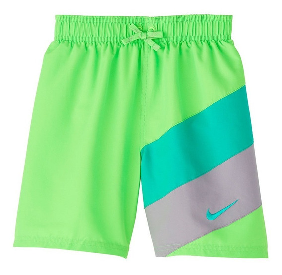 Short De Baño Nike Block 6 Niño Tienda Oficial Nike