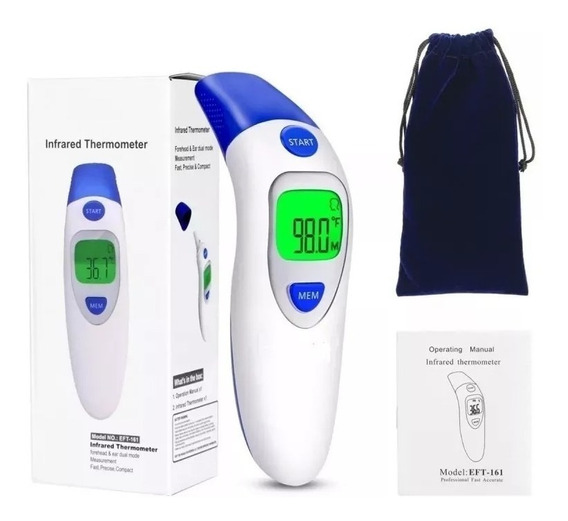 Termometro Infantil E Adulto Digital Para Testa E Corpo