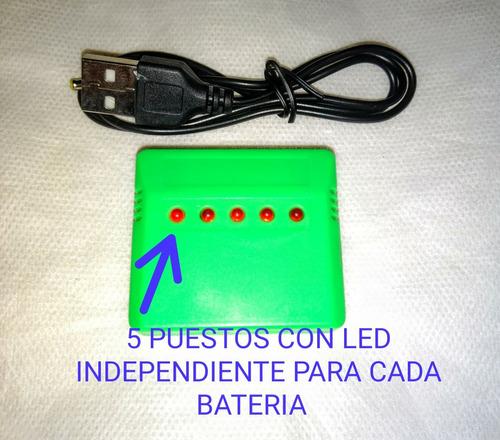 Cargador De Baterias 5 Puestos Syma X5,x5c ,x5 Sw. Etc
