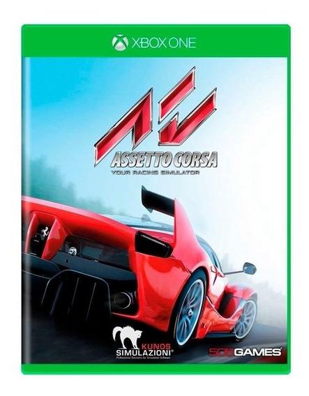 Jogo Xbox One Assetto Corsa - Novo - Lacrado