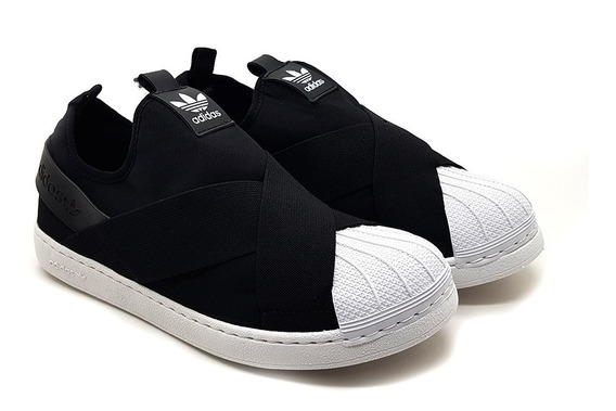 Tênis adidas Superstar Slip On Original - Mega Oferta
