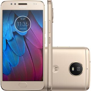 Brindes * Celular Motorola Moto G5s G5 S 32gb Xt1792 Vitrine