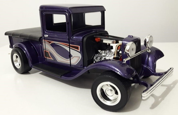 Pick-up Ford 1934 V8 Hot Rod 1:18 Road - Chevy Dodge Truck