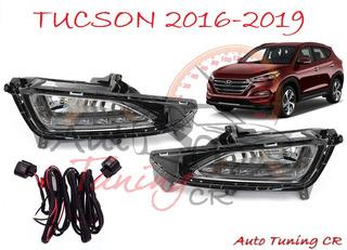 Halogenos Led Drl Hyundai Tucson 2016-2019