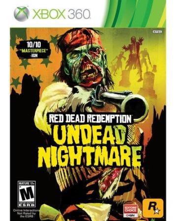 Red Dead Redemption Undead Nightmare Xbox 360 Original Fr$14