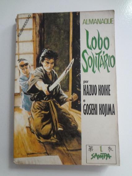 Mangá Almanaque Do Lobo Solitário Vol. 1