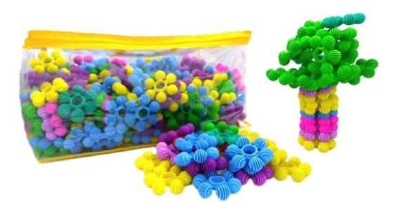 Estrela Feliz - Monta Monta -150 Pçs - Lego - Brinquedo