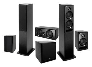 Home Theater 5.1 Kef Serie C