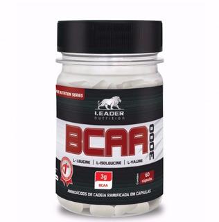 Bcaa 3000 (60 Caps) - Leader Nutrition