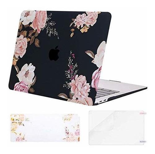 Carcasa Para Macbook A1932 Con Retina Flor De Peonía