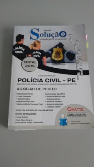 Apostila Concurso Policia Civil