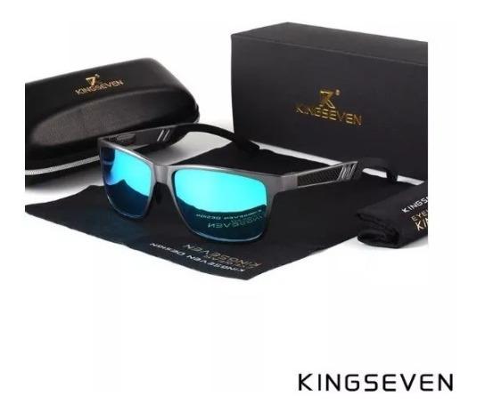 Gafas Kingseven Polarizadas Estuche Original Aluminio