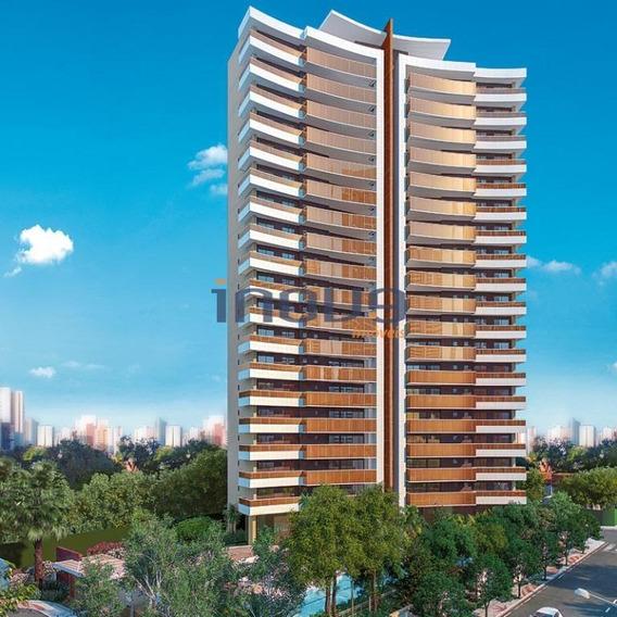 Apartamento Residencial À Venda, Dionisio Torres, Fortaleza. - Ap0411