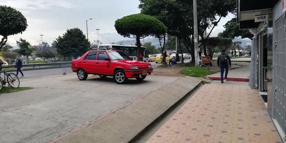 Renault 9 Brio, Motor 1.3 1994 Rojo 4 Puertas
