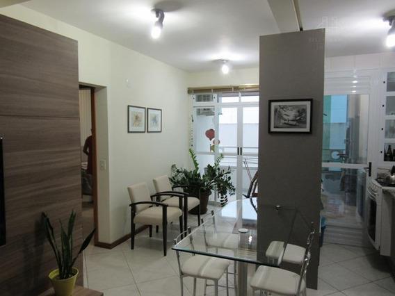 Apartamento Mobiliado No Itacorubi, Florianópolis. 1 Dormitório, Sacada E 1 Vaga De Garagem - Ap1268